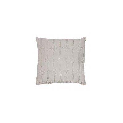 Lurex Kites Style Emb Linen Throw Pillow
