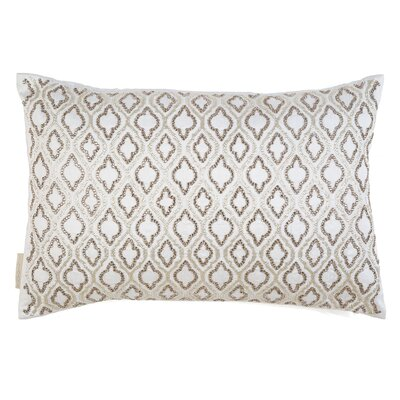 Crystals Ikat Throw Pillow