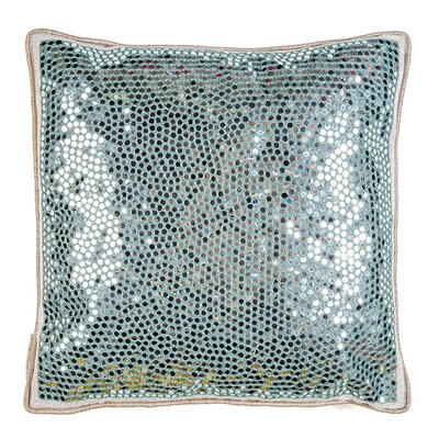 Mirrors Embroidered Throw Pillow