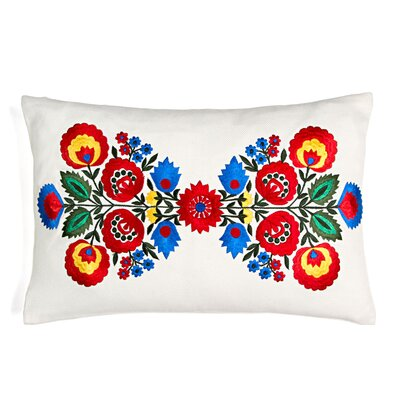 Mixed Bouquet Throw Pillow