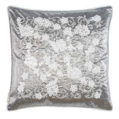 Grapevine Silk Throw Pillow