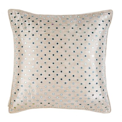 Resham Thread and Mirror Drizzle Throw Pillow