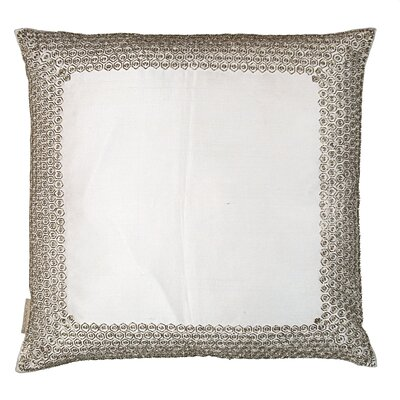 Honeycomb Border Pillow Cover