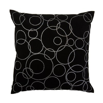 Dazzle Circles Decorative Throw Pillow