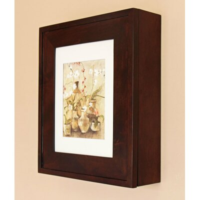 17 x 20 Surface Mount Medicine Cabinet Finish: Coffee Bean