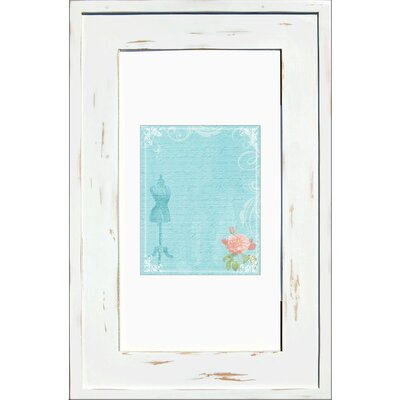 14 x 24 Recessed Medicine Cabinet Finish: Distressed White