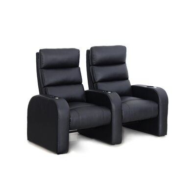 Manual Rocker Recline Home Theater Row Seating (Row of 2)