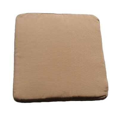 Clingo Outdoor Dining Chair Cushion Fabric: Tan