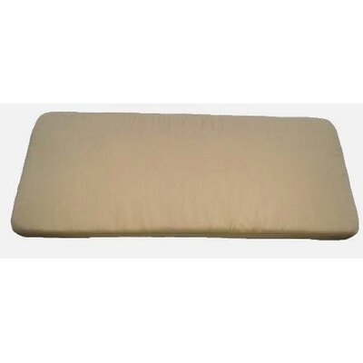 Clingo Outdoor Bench Cushion Fabric: Tan