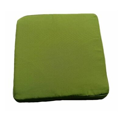 Clingo Outdoor Dining Chair Cushion Fabric: Green