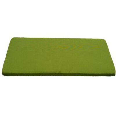 Clingo Outdoor Bench Cushion Fabric: Green