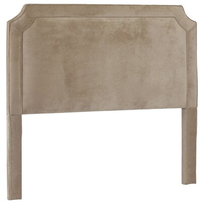 Manor Upholstered Panel Headboard Size: Queen, Upholstery: Donna Coffee