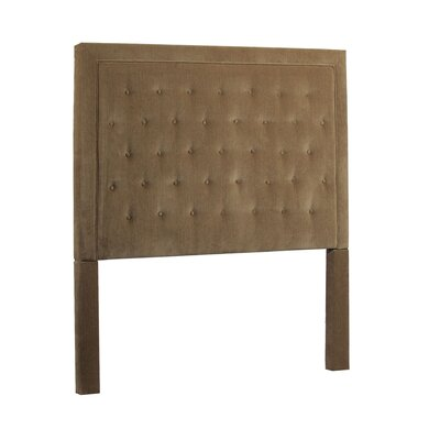 Eden Queen Upholstered Panel Headboard Upholstery: Portland Camel