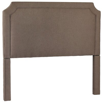 Manor Upholstered Panel Headboard Upholstery: Lisburn Rattan, Size: King