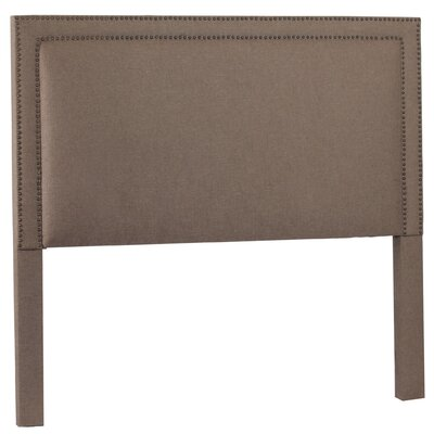 Hayley Upholstered Panel Headboard Upholstery: Lisburn Rattan, Size: Queen
