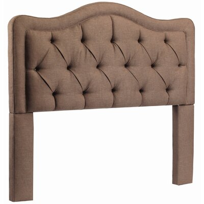 Bromberg Upholstered Panel Headboard Size: Queen, Upholstery: Lisburn Ratton