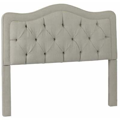 Bromberg Upholstered Panel Headboard Size: King, Upholstery: Walden Mineral
