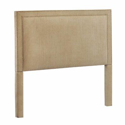 Poland King Upholstered Panel Headboard Upholstery: Brooke Pecan