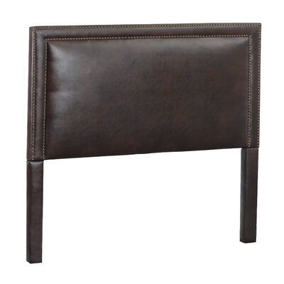 Hayley Upholstered Panel Headboard Size: King, Upholstery: Royalty Espresso