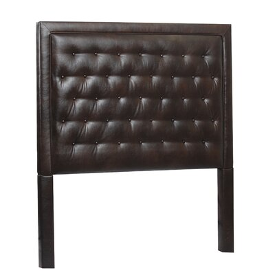 Eden Queen Upholstered Panel Headboard Upholstery: Royalty Bi cast Espresso
