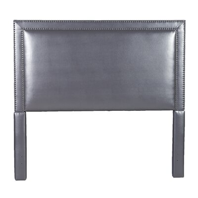 Hayley Upholstered Panel Headboard Size: Queen, Upholstery: Night Party Chocolate