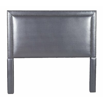Hayley Upholstered Panel Bed Size: King, Color: Gray