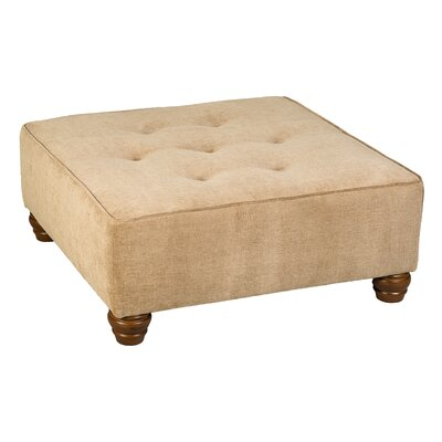 Fieldon Cocktail Ottoman Upholstery: Brooke Pecan