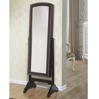 Abby Jewelry Armoire with Mirror