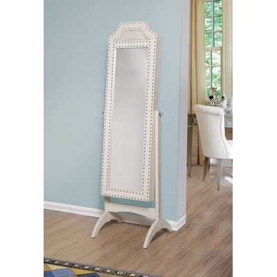 Nina Jewelry Armoire with Mirror
