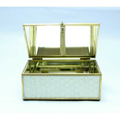 Rectangle Jewelry Box Size: 5.25