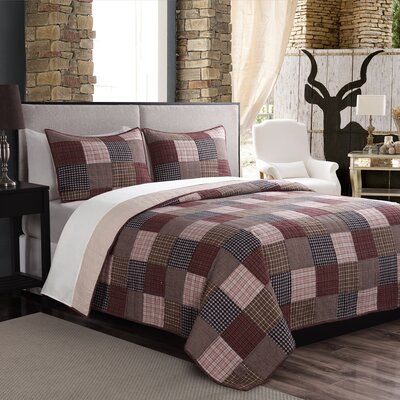 Tulipe Quilt/Coverlet Set Size: Full/Queen
