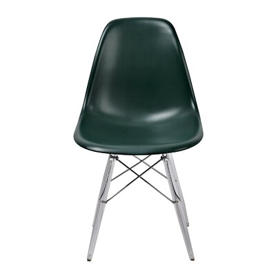 Banks Side Chair Finish: Green