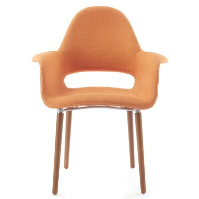 Conrad Arm Chair Finish: Orange