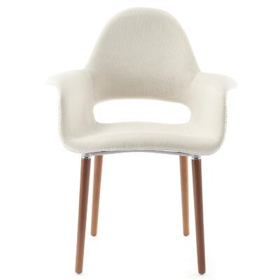 Conrad Arm Chair Finish: Cream