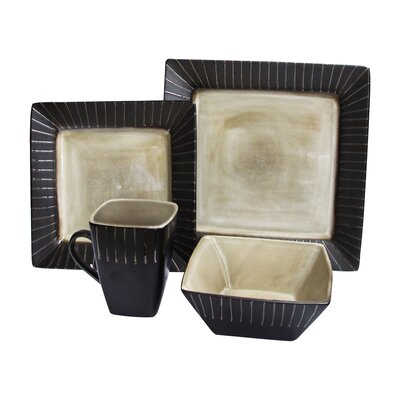 Stonegate 16 Piece Dinnerware Set 6082-16IV