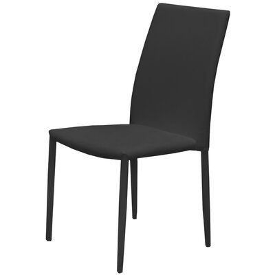 Side Chair (Set of 4) Finish: Black