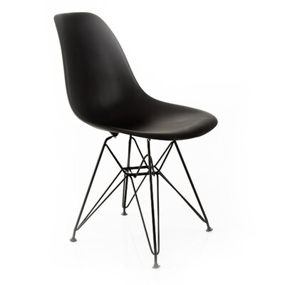 Banks Side Chair Finish: Black