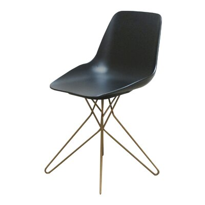 Logan Side Chair Finish: Black