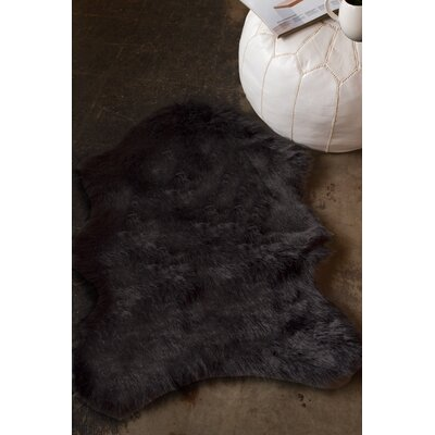 Shayne Black Area Rug