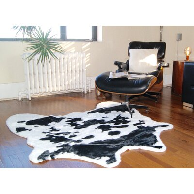 Sugarland Black/White Cowhide Area Rug