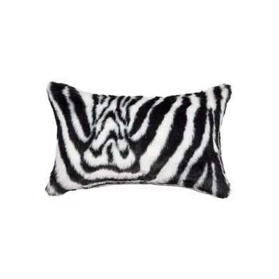 Belton Faux Fur Lumbar Pillow