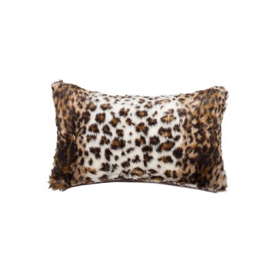 Faux Hide Lumbar Pillow