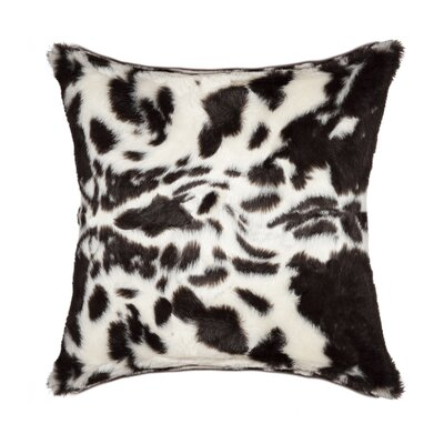 Weehawken Throw Pillow Color: Brown & White