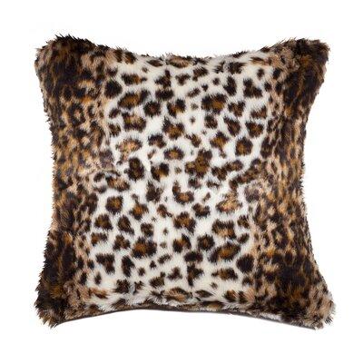 Faux Hide Throw Pillow