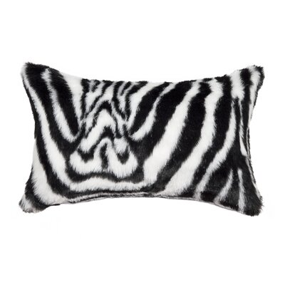 Belton Faux Fur Lumbar Pillow