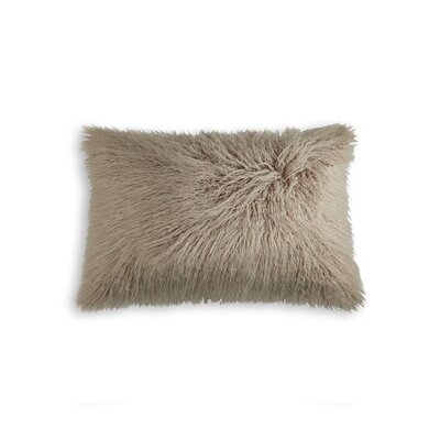 Frisco Lumbar Pillow Color: Tan