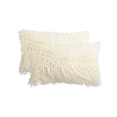 Frisco Lumbar Pillow Color: Stone White
