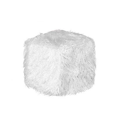 El Paso Pouf Ottoman Upholstery: Stone White