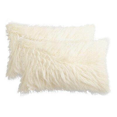 Frisco Lumbar Pillow Color: Stone White