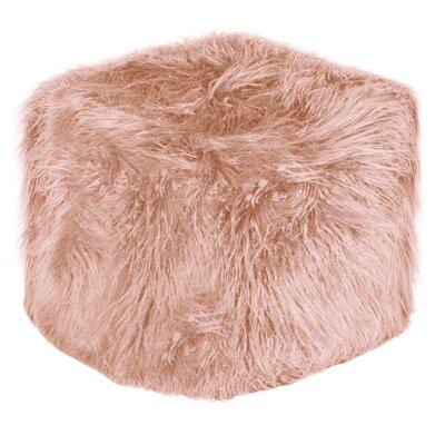 El Paso Pouf Ottoman Upholstery: Dusty Rose